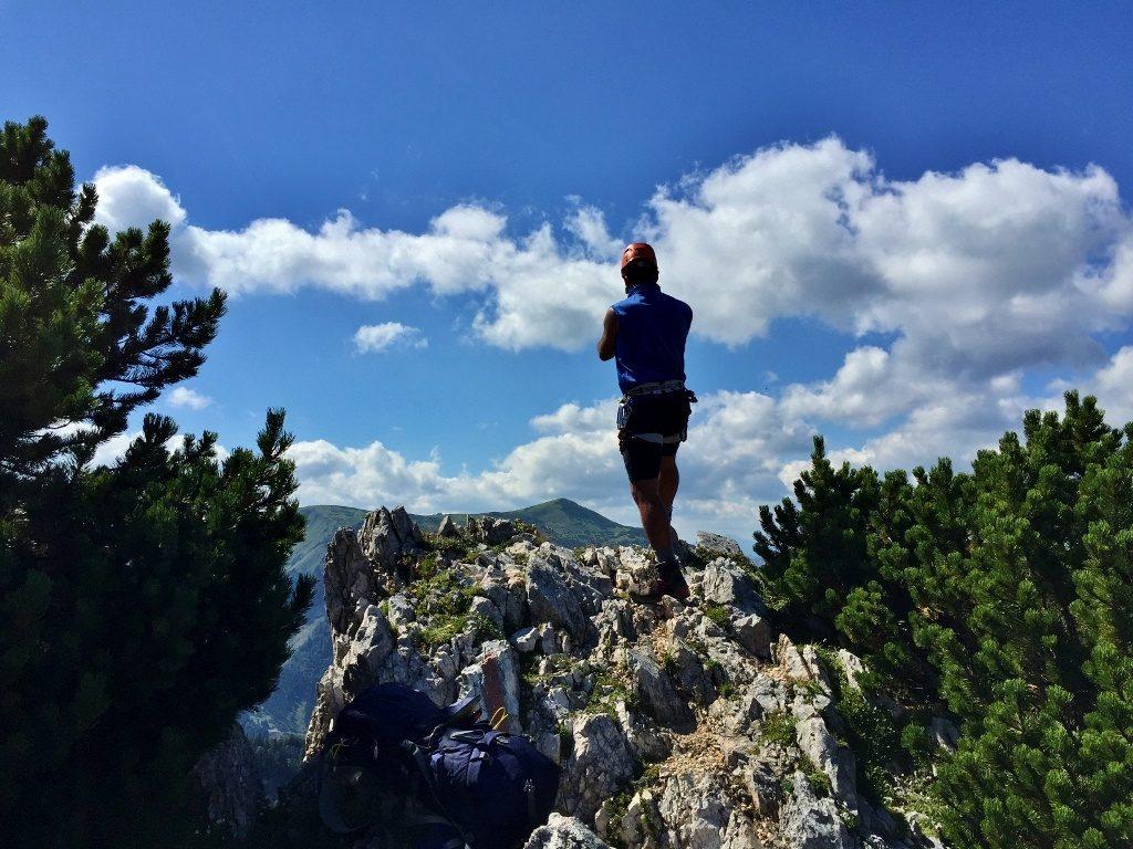Hollental via ferraty austria gory pasja gora wspinaczka