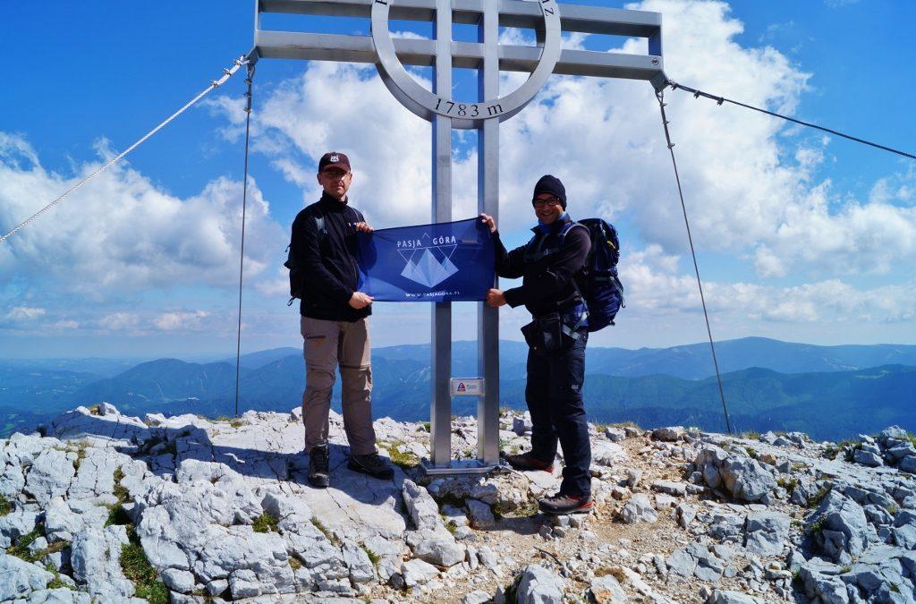 Hollental via ferraty austria gory pasja gora wspinaczka rax