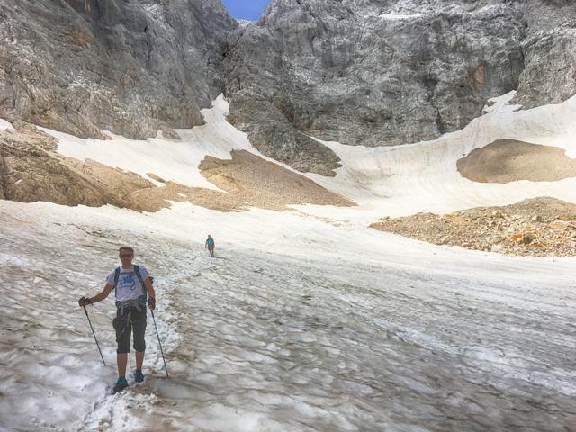 Pasja Górą - Triglav Słowenia góry alpy alps wspinanie ferraty śnieg